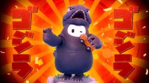 Fall Guys: Ultimate Knockout Gets an Official Godzilla Costume on Godzilla Day