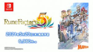 Rune Factory 5 Launches May 20, 2021 in Japan