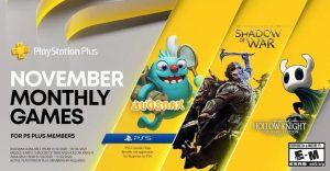 PlayStation Plus Games for November 2020 Announced
