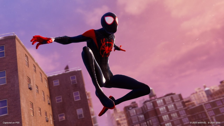 Marvel's Spider-Man: Miles Morales Into the Spider-Verse suit