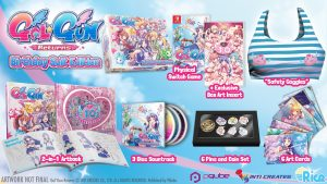 Gal Gun Returns 'Birthday Suit' Limited Edition Announced
