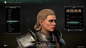 Demon's Souls Remake Character Creator and Photo Mode Detailed