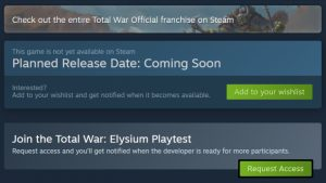 Steam Playtest Enters Beta; Allows Keyless Public Playtests