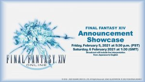 Final Fantasy XIV Announcement Showcase Announced, Set for February 5, 2021