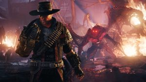 Weird West Character Action Game Evil West Announced