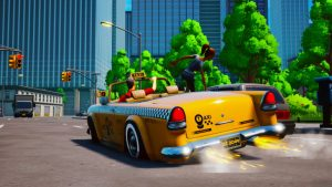 Taxi Chaos Announced, Launches February 23