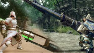Monster Hunter Rise Insect Glaive and Gunlance Gameplay Trailers