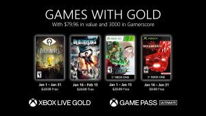 Games With Gold for January 2021 Announced