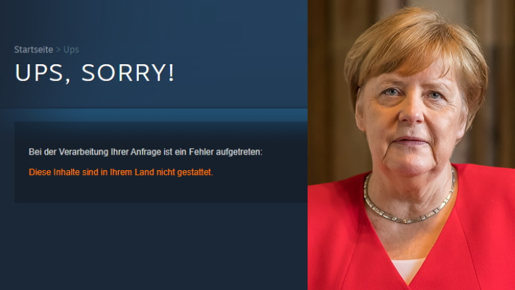 Steam Germany adult games blocked