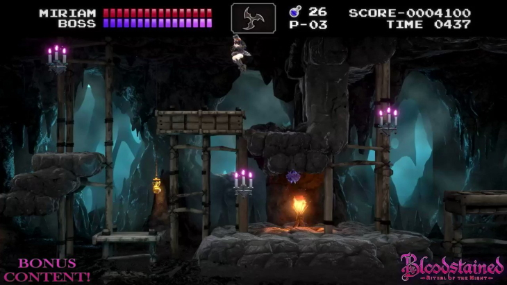 Bloodstained: Ritual of the Night Classic Mode