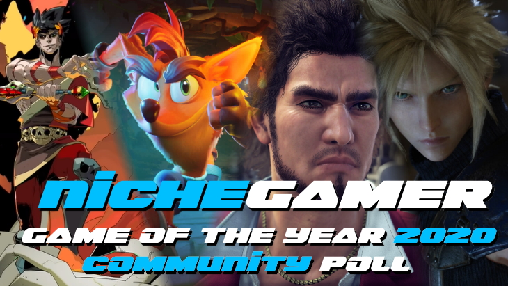 Niche Gamer Community Game of the Year Poll 2020