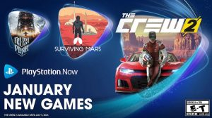 PlayStation Now Adds The Crew 2, Surviving Mars, and Frostpunk