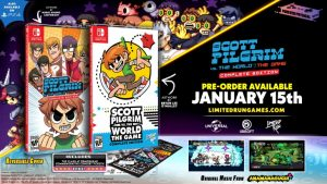 Limited Run Games Announce Scott Pilgrim vs. The World: The Game – Complete Edition Physical Versions and Limited Editions