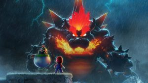 Super Mario 3D World Bowser's Fury Mode Revealed; Giant Dark Kaiju Bowser Vs. Golden Great Cat Mario