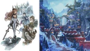 Bravely Default II Info and Screenshots; Raimdall Characters, and Jobs
