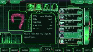 Space Warlord Organ Trading Simulator Announced for PC