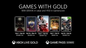 Xbox Live Games With Gold for February 2021 Announced, Xbox Live Gold Price Hike Also Announced