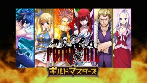 Fairy Tail: Guild Masters Announced for Smartphones