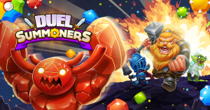 PVP Match-Three Mobile Game Duel Summoners Available Now