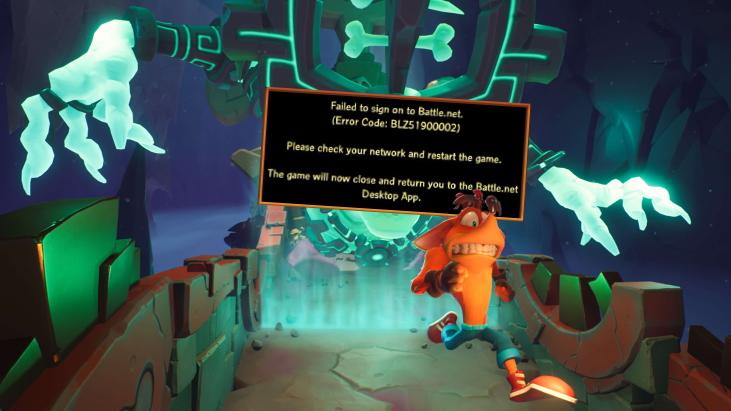 Crash Bandicoot 4: It's About Time DRM