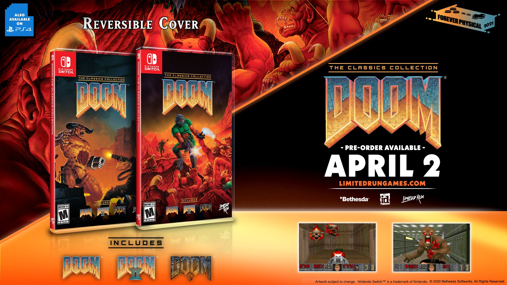 DOOM: The Classics Collection Announced