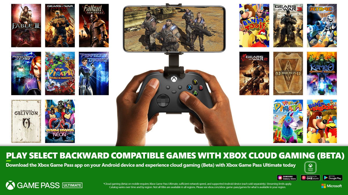 Xbox Cloud Gaming Adds Backwards Compatibility Support