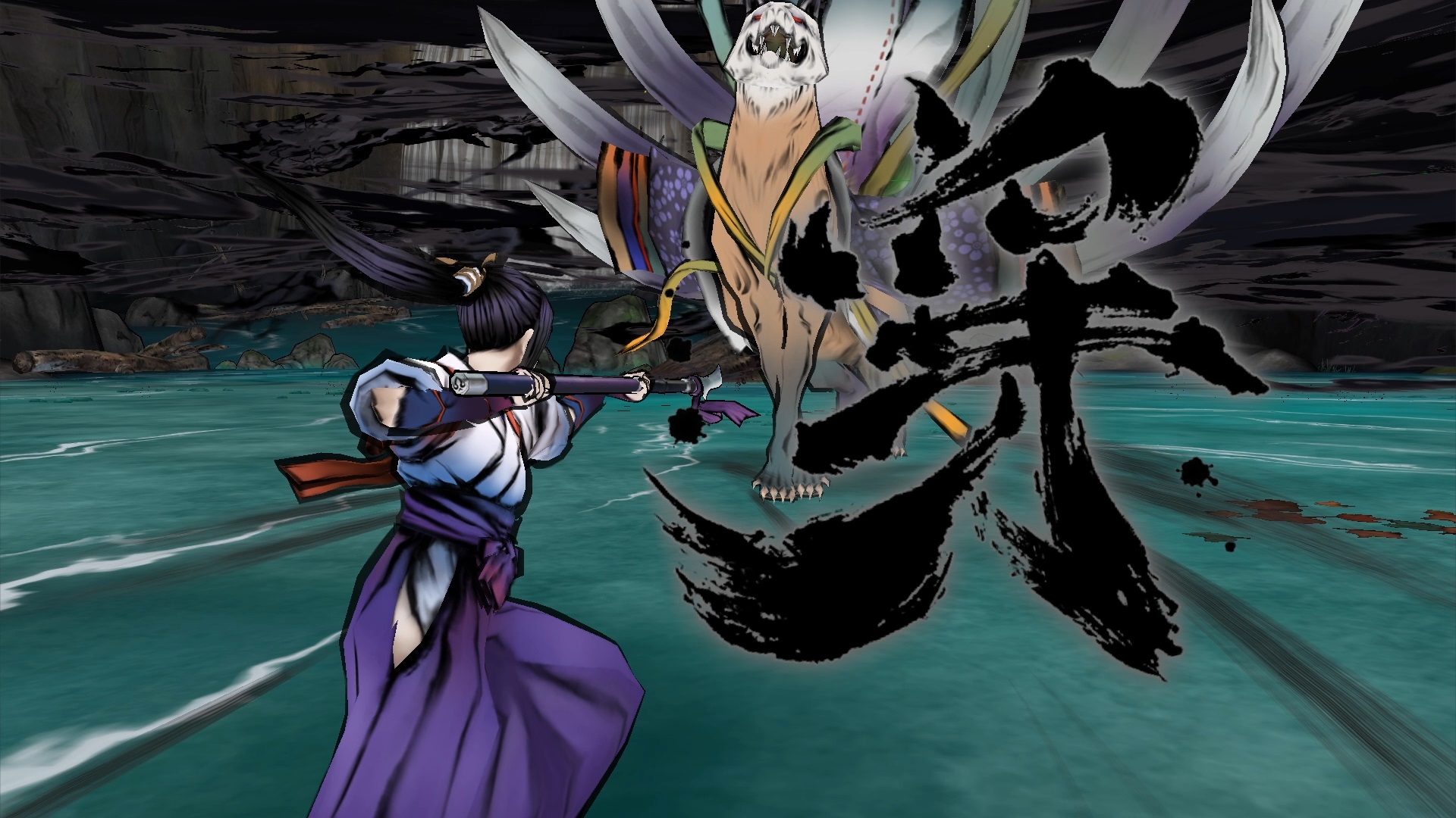 Okami-like Action Game World of Demons Now Available