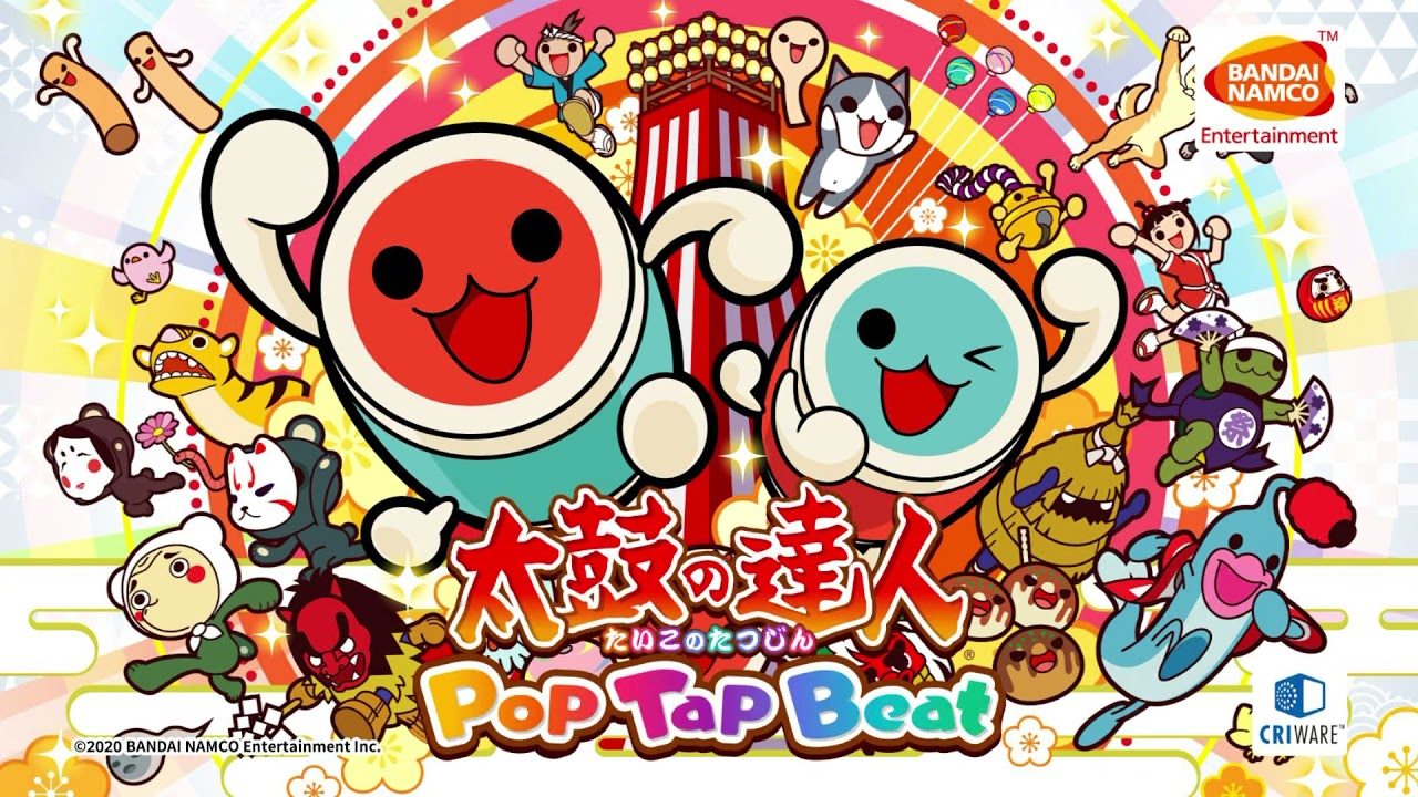 Taiko no Tatsujin: Pop Tap Bea‪t‬ Announced