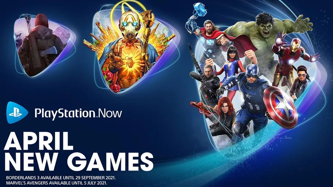 PlayStation Now Adds Marvel's Avengers