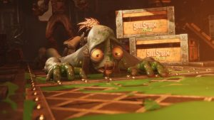 Oddworld: Soulstorm Launch Trailer – Now Available for PC, PS4, and PS5