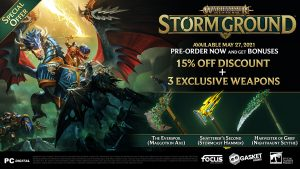 Warhammer Age of Sigmar: Storm Ground Launches May 27