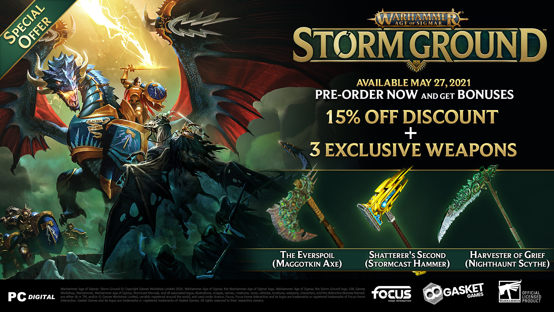 Warhammer Age of Sigmar: Storm Ground Launches