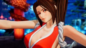 The King of Fighters XV Mai Shiranui Gameplay Reveal Trailer