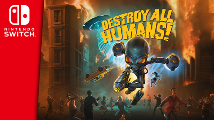 Destroy All Humans! Switch Port