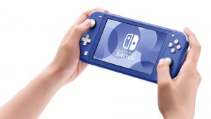 Blue Nintendo Switch Lite Coming May 21