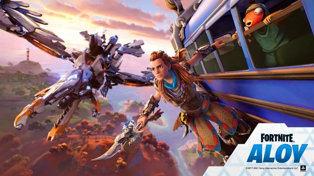 Fortnite character outfit Aloy from Horizon Zero Dawn