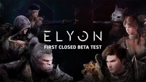 Action MMO Elyon Closed Beta Test Sign-Ups Available Now