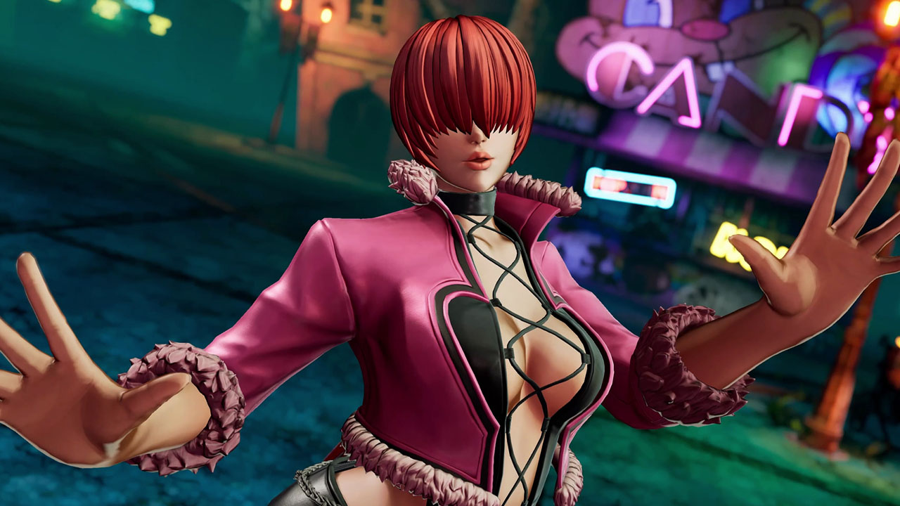 The King of Fighters XVShermie gameplay reveal trailer