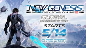 Phantasy Star Online 2: New Genesis Global Closed Beta Begins May 14; Sign-Ups April 21