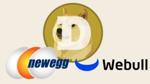 Dogecoin Now Usable on Newegg, Tradable on WeBull