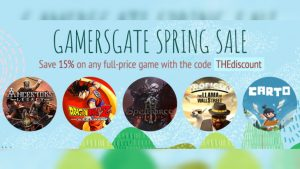 GamersGate Spring Sale; THQ Nordic, Indies, and More