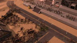Starship Troopers – Terran Command Battle in The Streets Gameplay Trailer