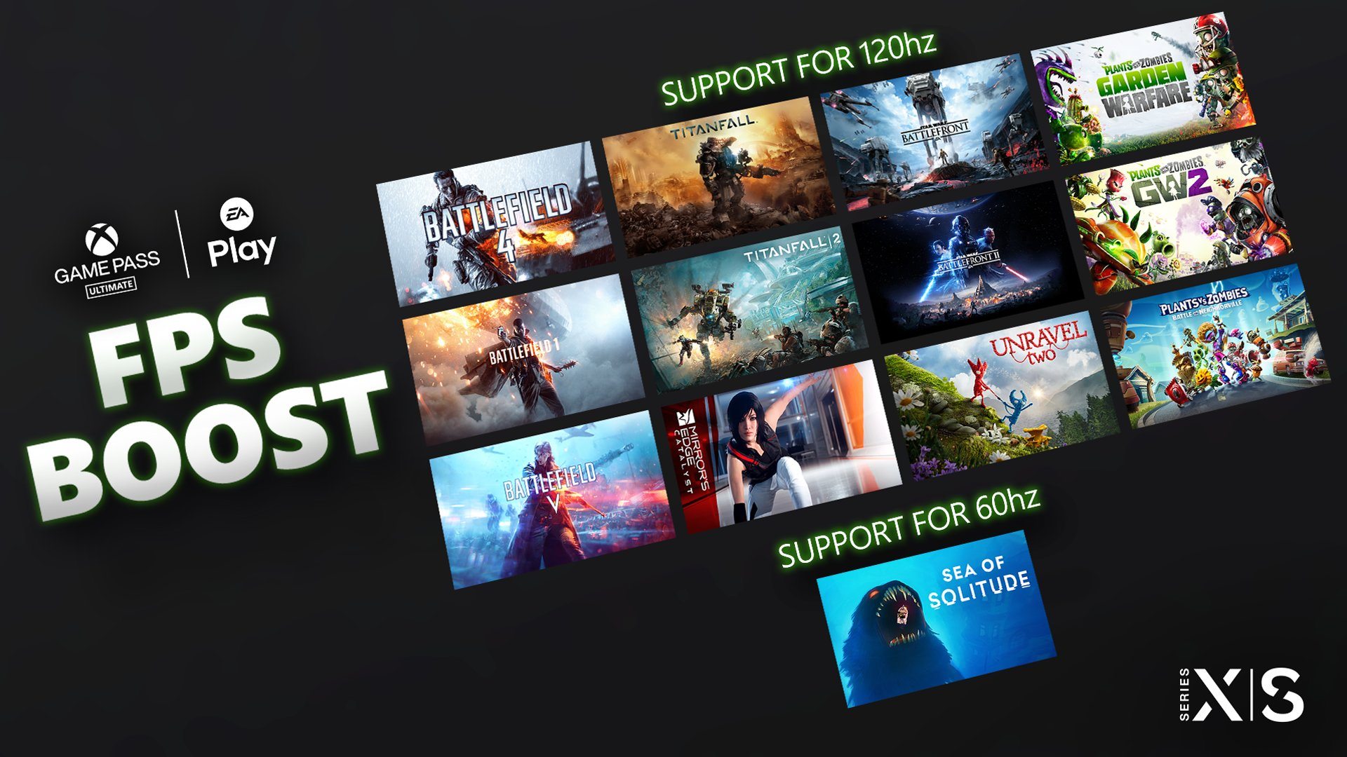 Xbox Series X+S FPS boost