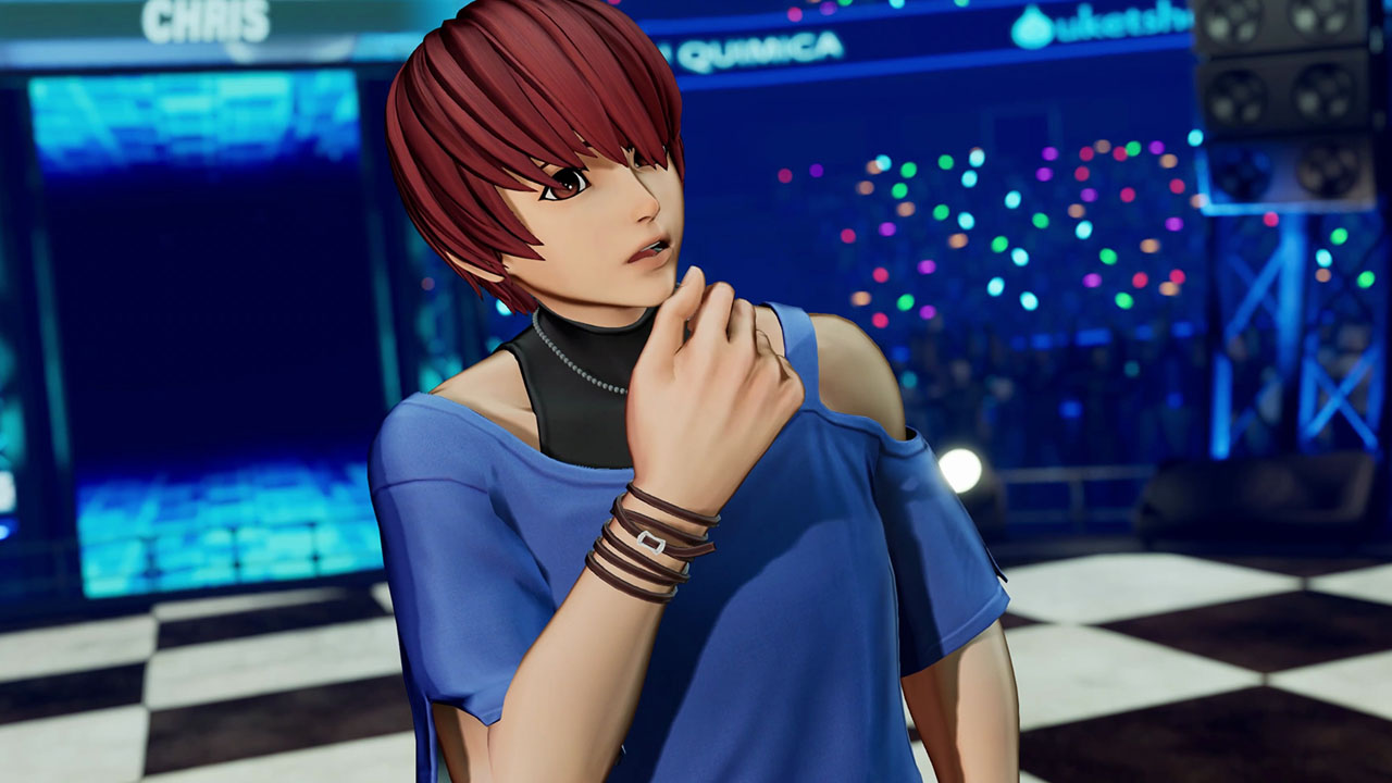 The King of Fighters XV Chris Gameplay Reveal Trailer