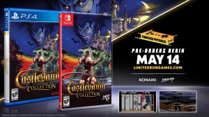 Castlevania Anniversary Collection Limited Run Physical Version Coming May 14