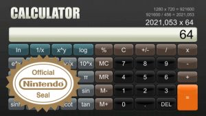 Sabec Limited Launch $10 Calculator on Nintendo Switch