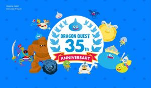 Dragon Quest 35th Anniversary Livestream Set for May 27