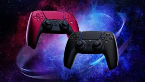 PlayStation 5 Cosmic Red and Midnight Black Dualsense Controllers Launch June 2021