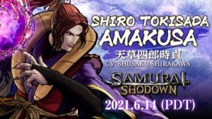 Samurai Shodown Heads to Steam June 14; Shiro Tokisada Amakusa DLC Character Announced