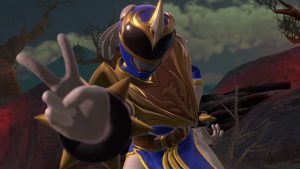 Power Rangers: Battle for the Grid Chun-Li Blue Phoenix Ranger Gameplay